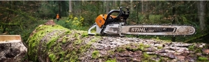 STIHL Chainsaws and Telescopic Pole Pruners