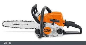 STIHL Petrol Chainsaw MS 180 - 1 4 kW with 2-MIX engine technology